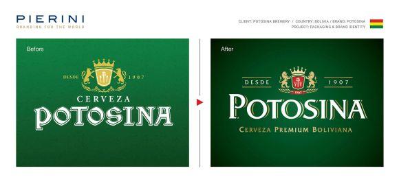 Comparativa logo Potosina Pierini