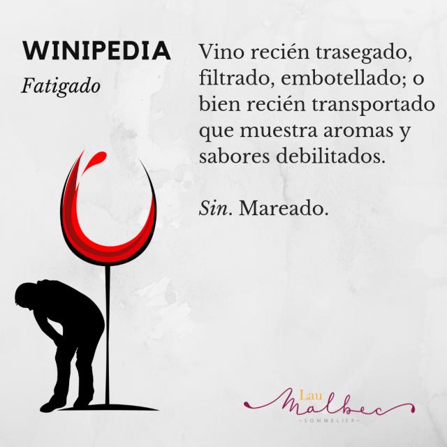 Qué es un vino Fatigado Winipedia