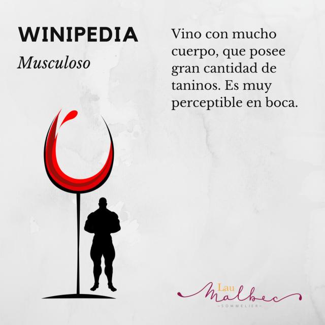 Winipedia Qué es un vino musculoso