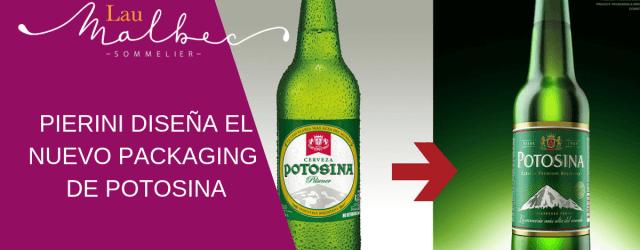 Pierini diseña el nuevo packaging de Potosina