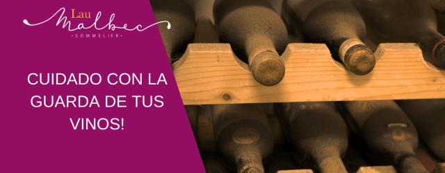 Como guardar los vinos
