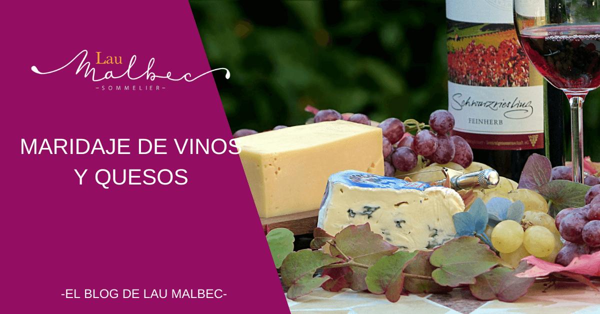 armonía de vinos y quesos