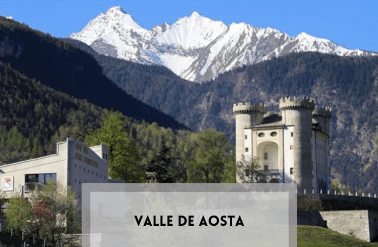 Valle de Aosta,  especialidades vínicas de consumo local.
