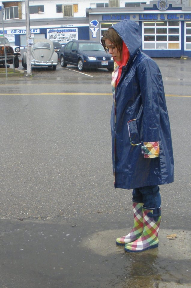 19. Give My Rain Boots Some Use