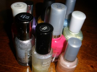 78. Paint Your Nails Different Colors; Leave them Like that ALL Day