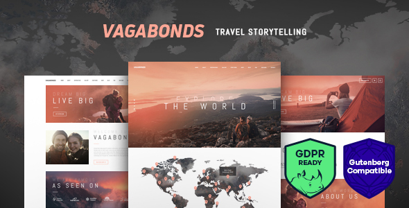 vagrant travel theme