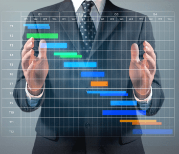 businessman-gantt-chart
