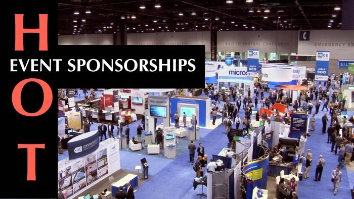 Event Sponsorships hot