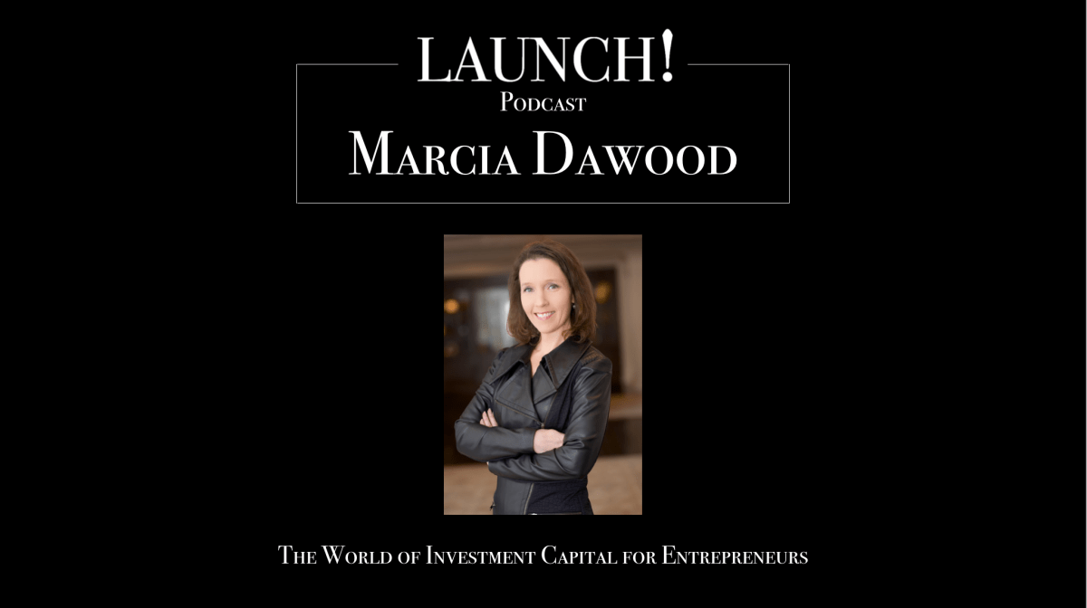The World of Investment Capital for Entrepreneurs with Marcia Dawood