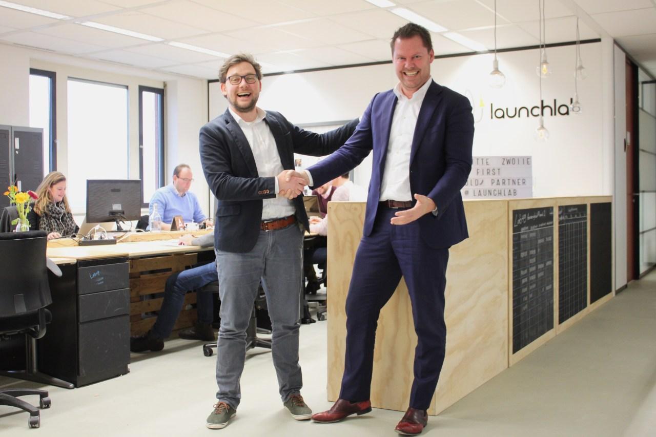 Samenwerking partners Deloitte Zwolle en Launchlab