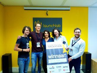 winnaar smart building hackathon