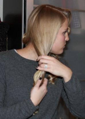 Step 13 Comb Curls