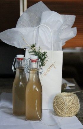 Ginger Syrup Gift Bag