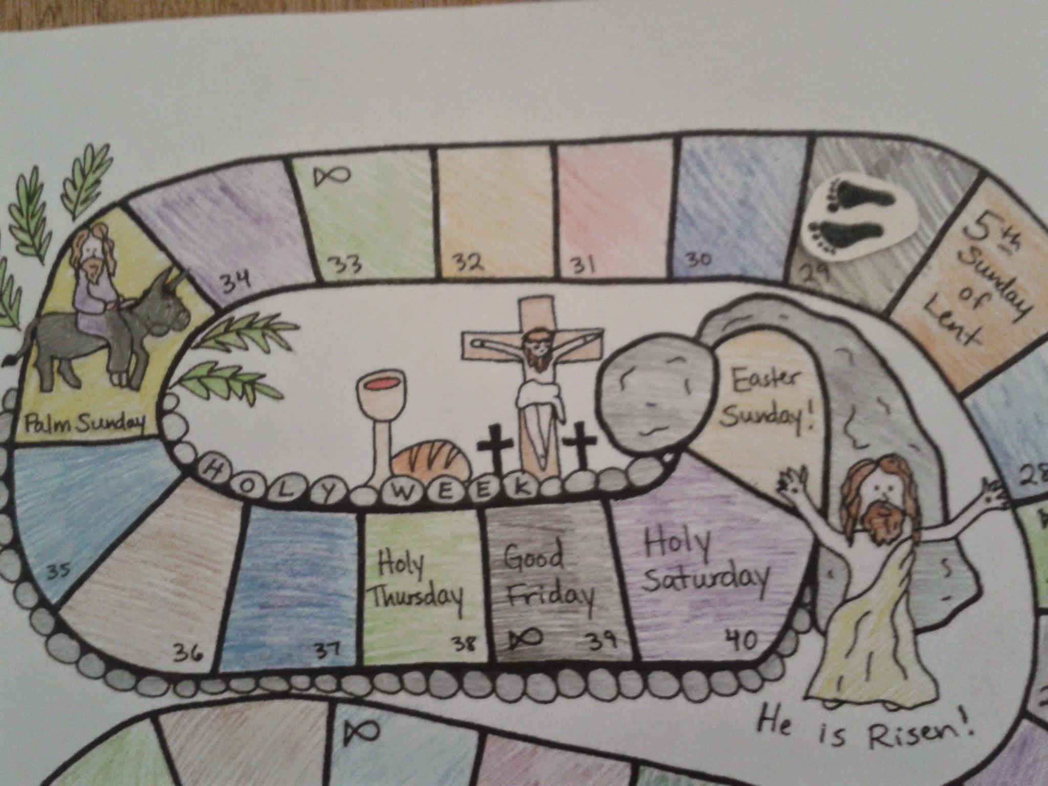 Lent Activities With Kids