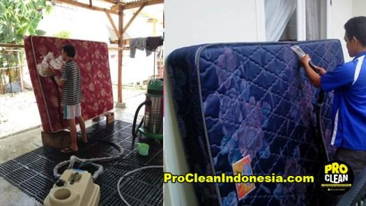 Cuci Spring Bed Kasur Medan