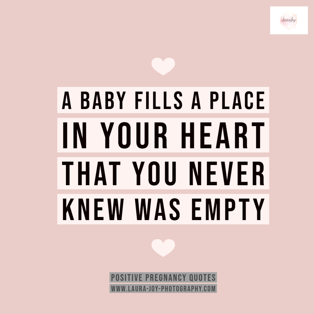 Positive Pregnancy Quote Day 1 from Laura Joy Photography Glasgow.jpg