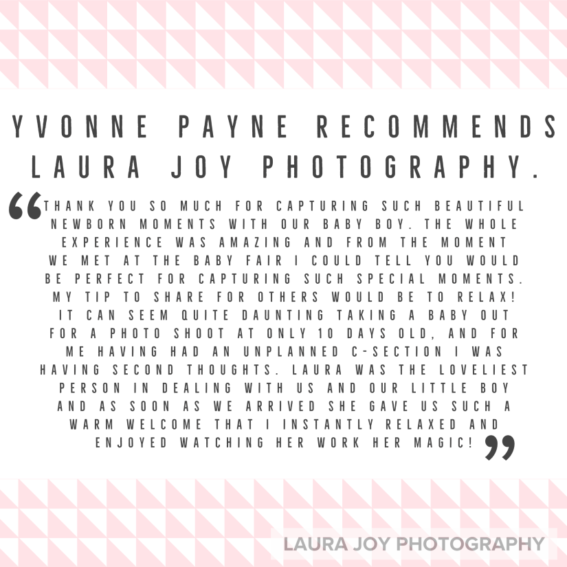 Laura Joy Photography Review January 2020
