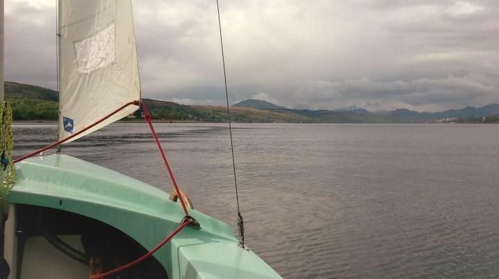 Sailing on the Wayfarer