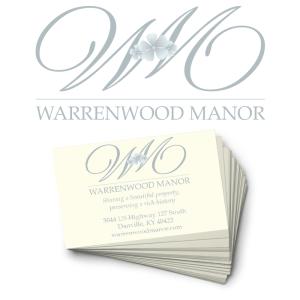 Warrenwood Manor Logo Concept