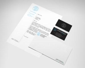 Example of brand & identity design.