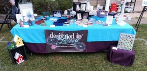 Designed by Laura craft show banner