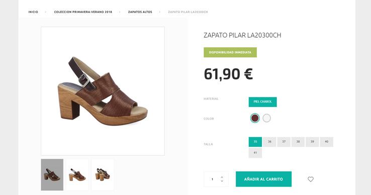c0ff16ca Pero no debemos olvidar que la mayoría de tiendas online, como sucede en  Laura Azaña o en Luisetti, nuestra marca de calzado confort para hombre, ...