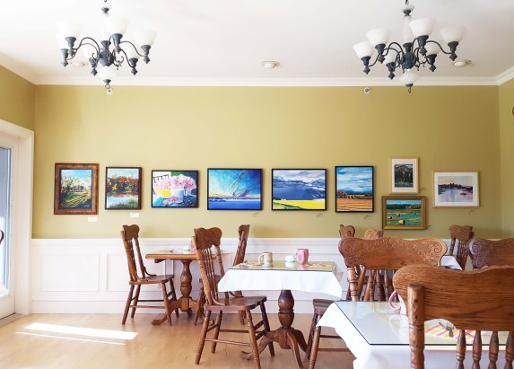 More or our art at the Country Inn