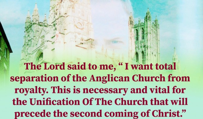 The Lord Is Not Happy With The State Of The Anglican Church