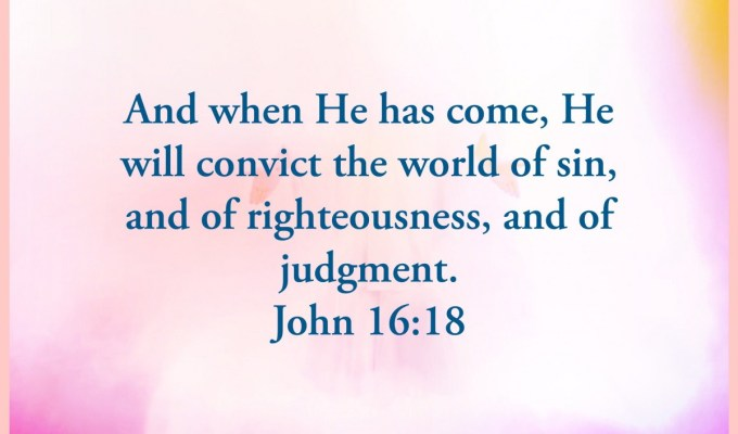 He Gives Conviction And Assurance