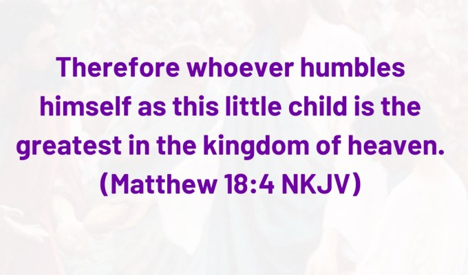 The Greatest In The Kingdom Of Heaven