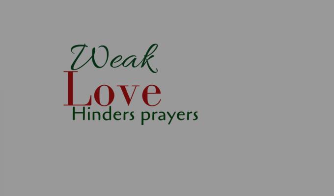 Weak Love