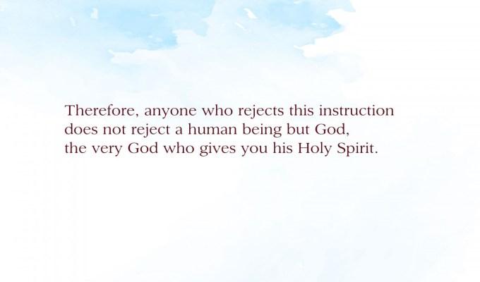 Accepting God