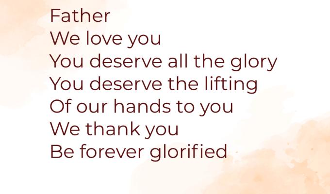 Forever Glorified