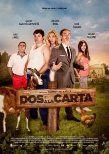 """Poster """"Dos a la Carta"""""""