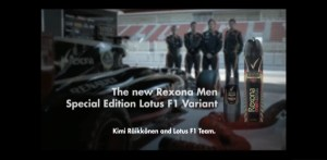 """Rexona Kimi Raikkonen"" Production: Blur Director: Zipi"