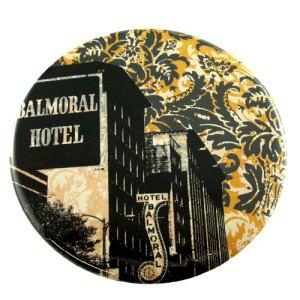 Balmoral Hotel Pocket Mirror