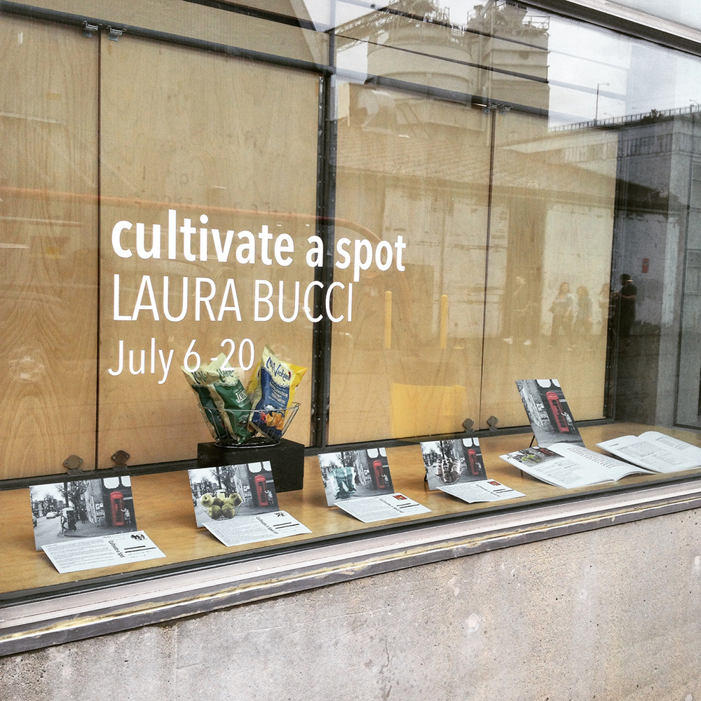 Cultivate a Spot at Emily Carr University, Library Window Gallery, July 6-20 2016