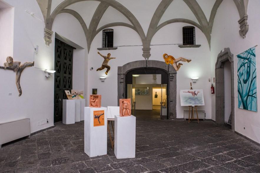 Allestimento al PAN, Palazzo delle Arti Napoli