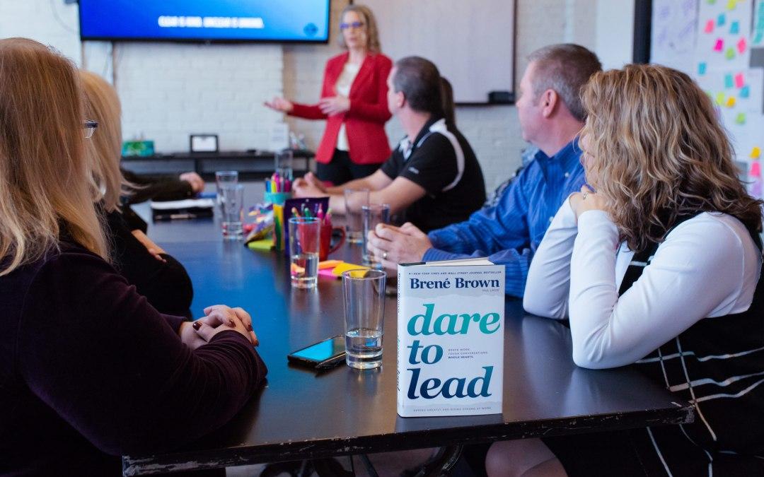 Brene Brown Dare to Lead Facilitator, senior change management consultant in Alberta, Laura Cooke Consulting, Leadership Workshop, Executive Leadership Facilitator