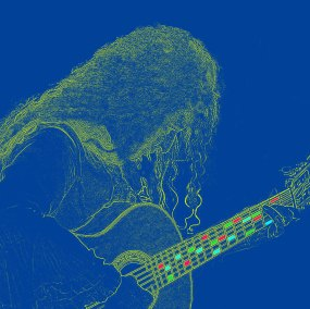 Cinta's guitar does magic