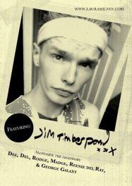 KSKKK flyer featuring Zack McGuinness as Jim Timberpond. Designed by Tom Jackson