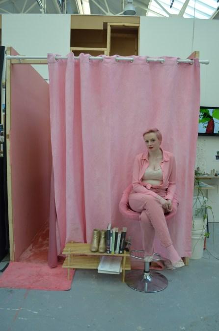 Laura Dee Milnes, Fold (2017). Photo by Chloe Windsor
