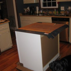 Ready Made Island For Kitchen Electrolux Appliances Diy Tutorial From Pre Cabinets