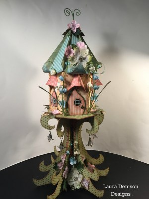CHA 2015 LDD Fairy House 1 Laura Denison Designs