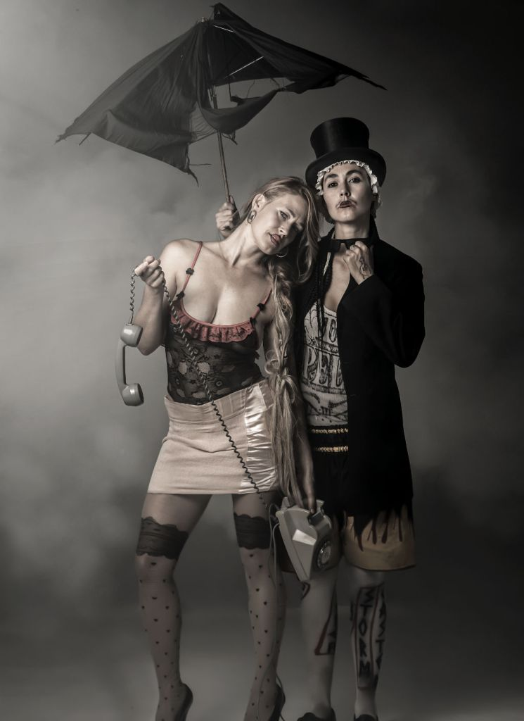 CocoRosie in costume by Peter Hönnemann