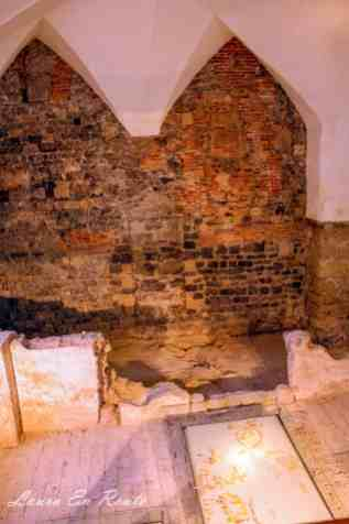 Preserved sections of original Chapel