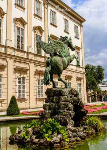 Pegasus - created by an artist from Innsbruck in 1913