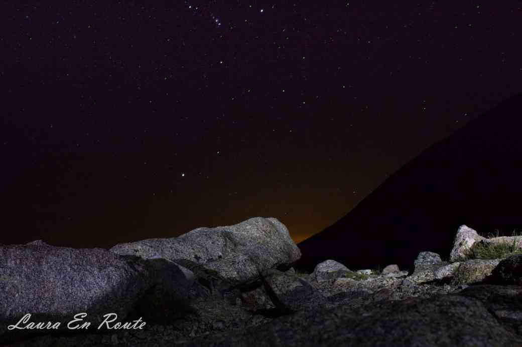 Stars over Longs Peak Trail, CO - www.lauraenroute.com
