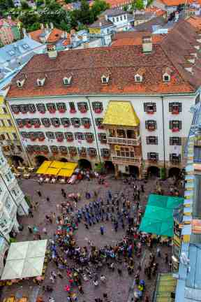 View from City Tower, Innsbruck