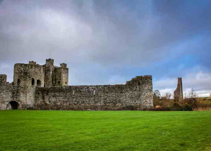 Trim Castle in Meath, Ireland